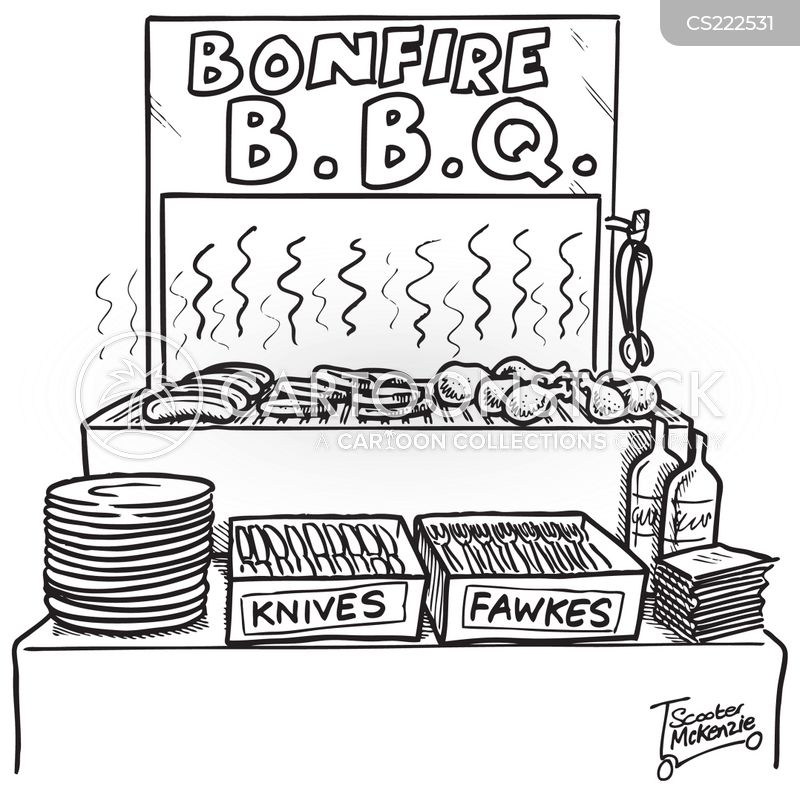 bonfire nights cartoon