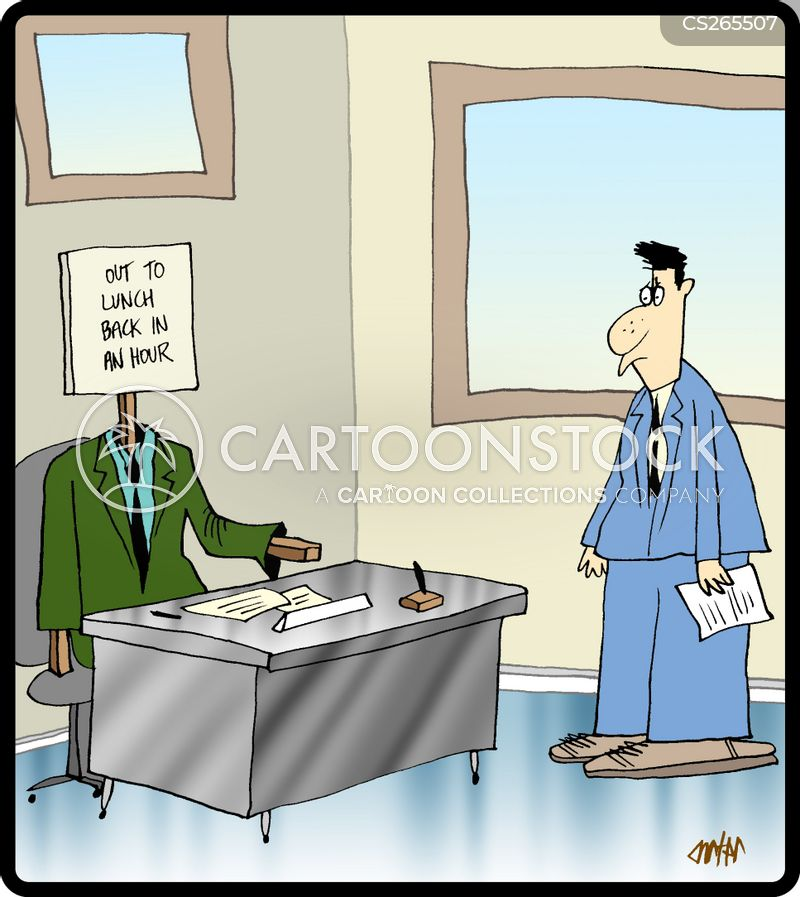 Funny Out to Lunch Sign Out to Lunch Sign Cartoon 2 of