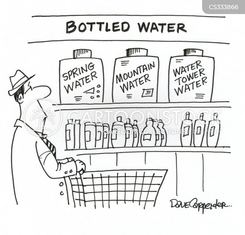 water towers cartoon