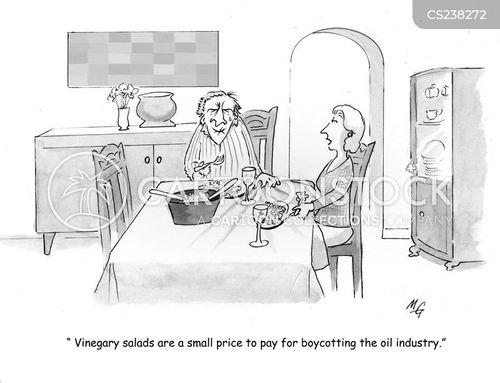 vinegar cartoon