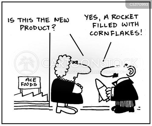 merchandises cartoon