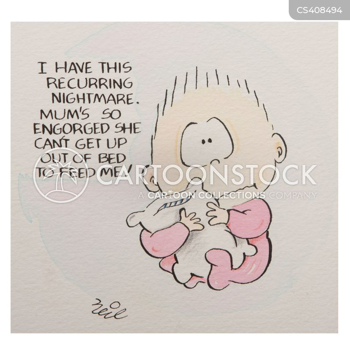breast-feeders cartoon