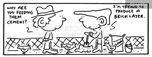 bricklayers cartoon