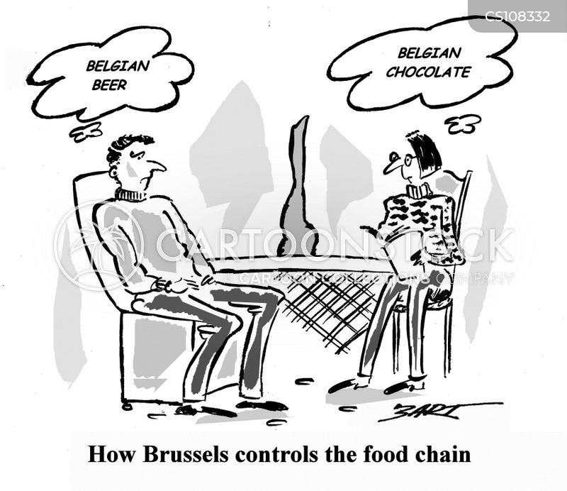 belgian chocolates cartoon
