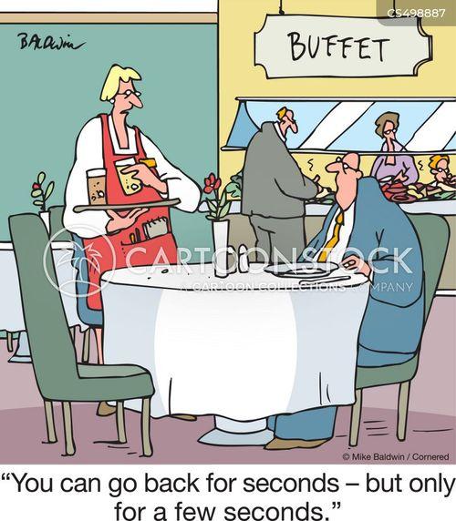 second helping cartoon