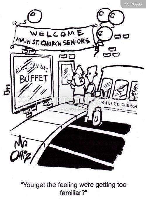 buffets cartoon