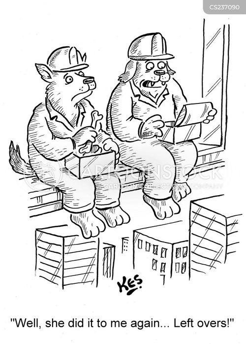 doggie bag cartoon