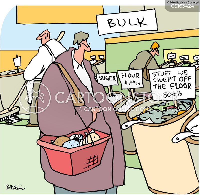 speciality food cartoon