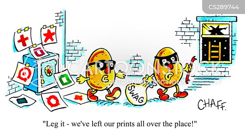 potato print cartoon