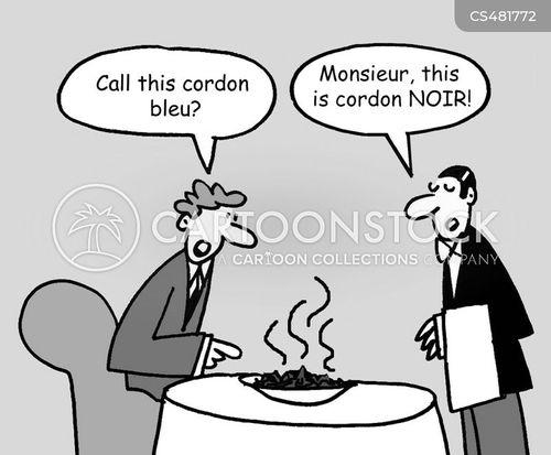 cordon bleu cartoon
