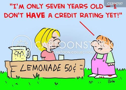 financially cartoon