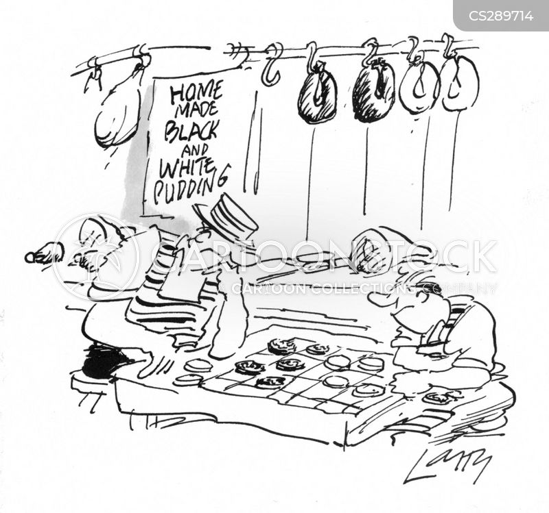 draughts cartoon