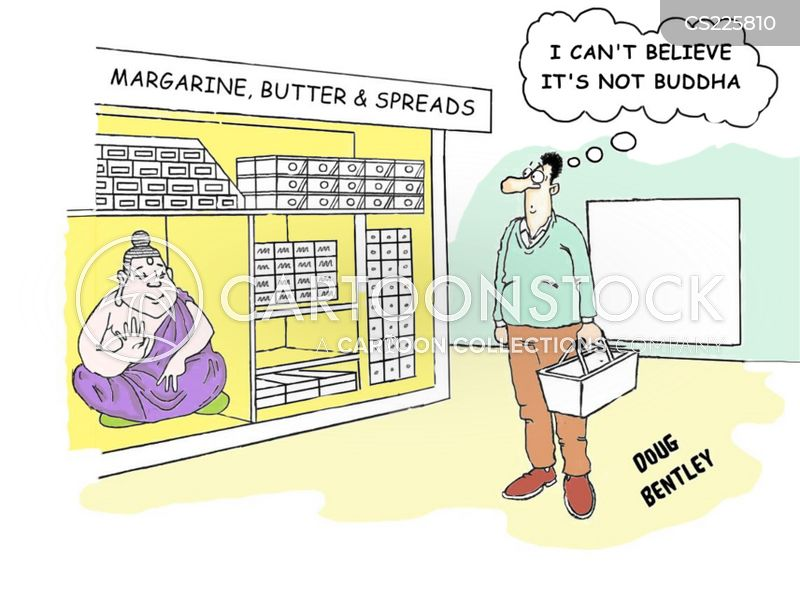 food shopper cartoon
