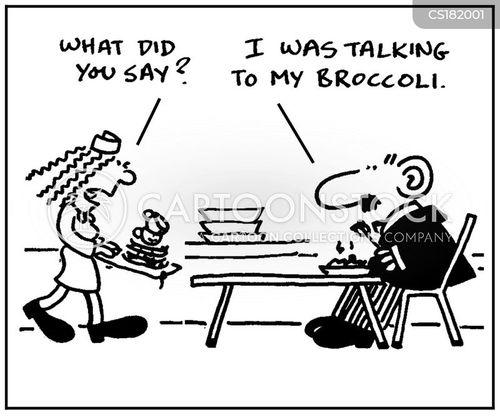 cafeteria cartoon