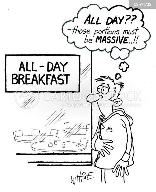 fry-up cartoon