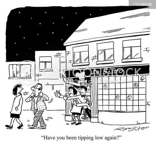 tight-fisted cartoon