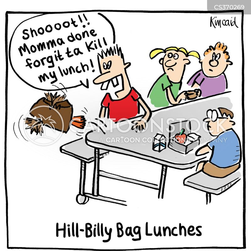 hill billy cartoon