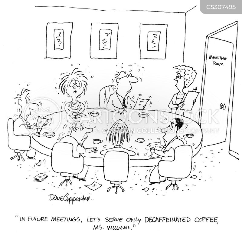 caffiene cartoon