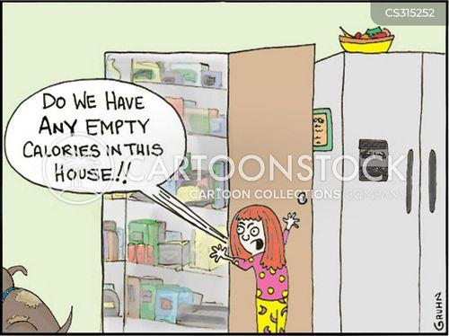 empty calories cartoon