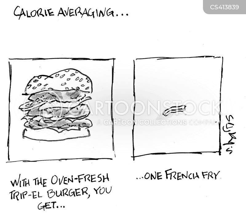 french fry cartoon