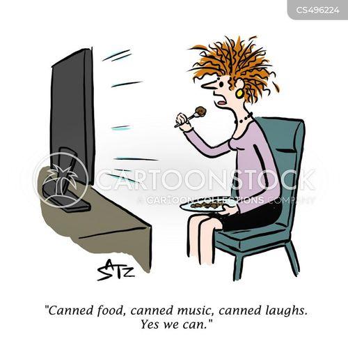 television dinners cartoon