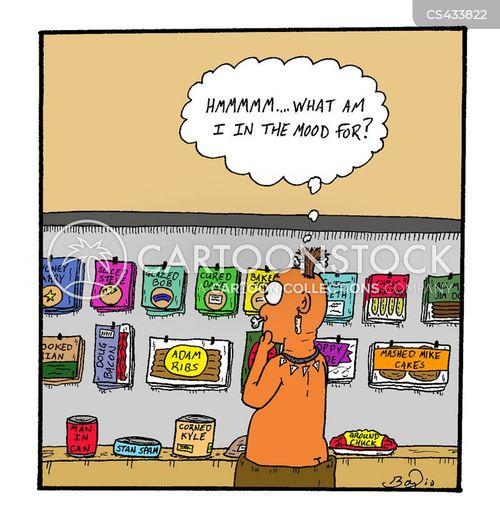 foody cartoon