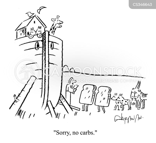 carb cartoon