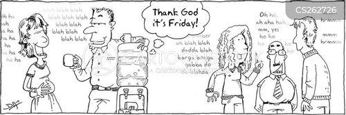 thank god its friday cartoon