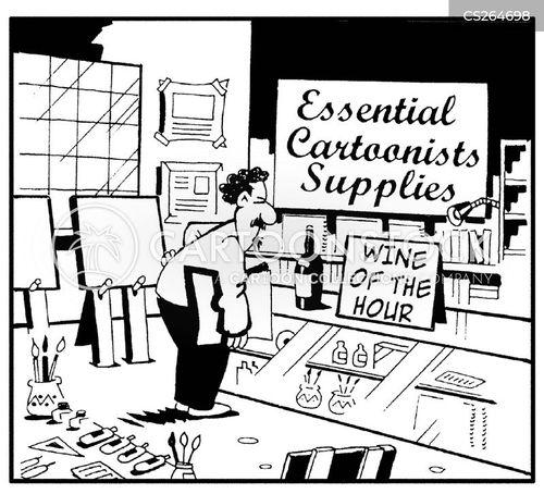 emergency supply cartoon