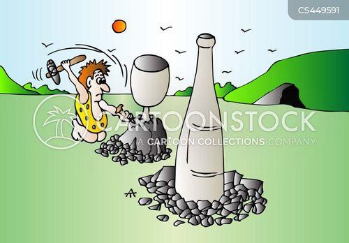 wine glass cartoon