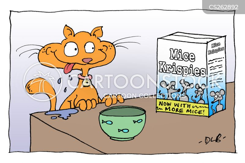 cereal boxes cartoon