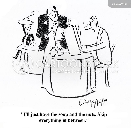 main course cartoon