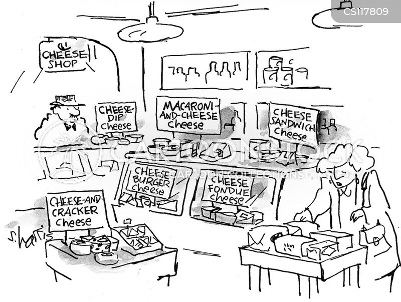 cheese shops cartoon