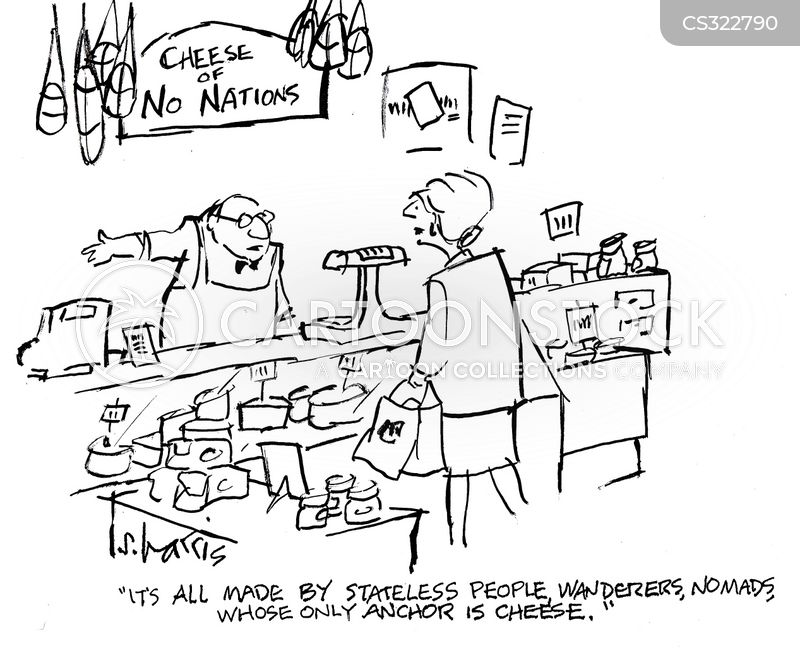 stateless person cartoon