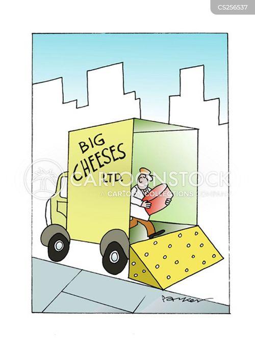 cheese company cartoon