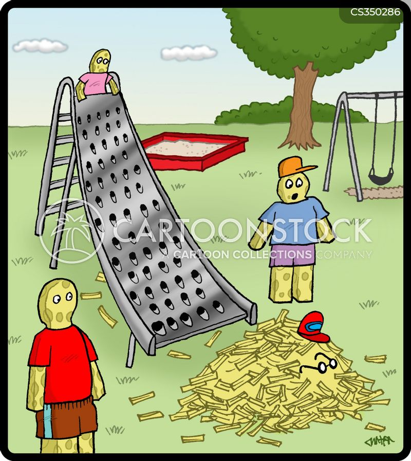 grater cartoon