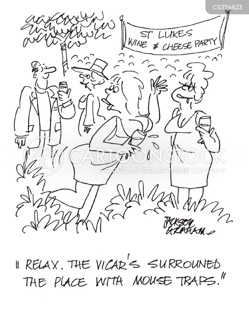 church fundraiser cartoon