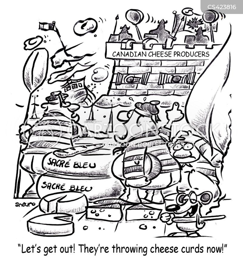 cheese factories cartoon