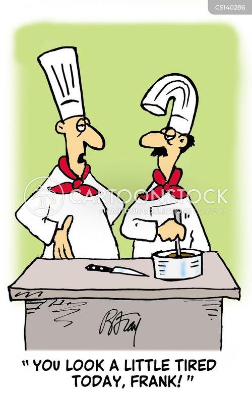 cooking food cartoon