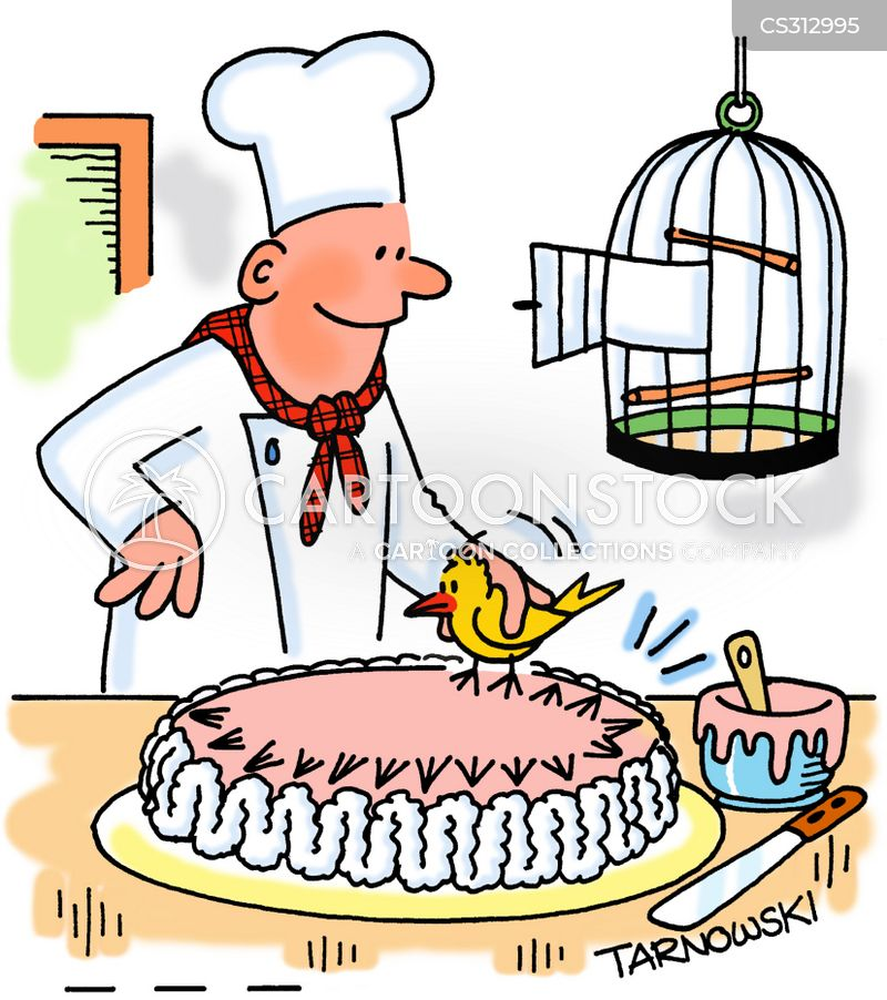 cake decorations cartoon