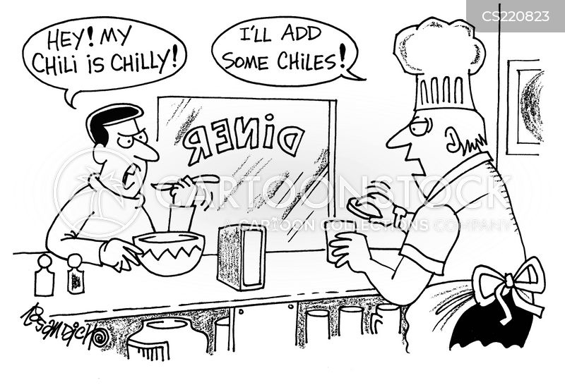 chillis cartoon