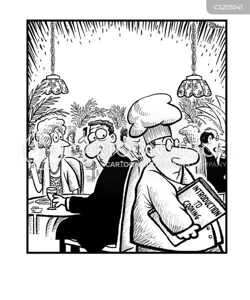 cookbooks cartoon