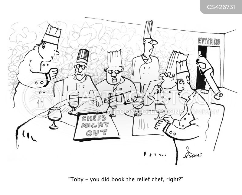 Kitchen Staff Cartoons And Comics Funny Pictures From