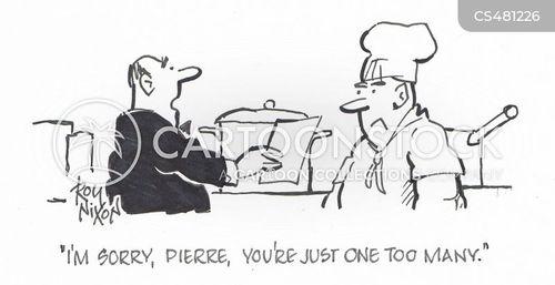 too many cooks cartoon