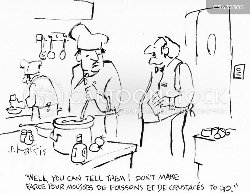 takeouts cartoon