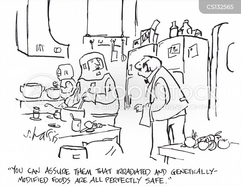 genetically-modified cartoon