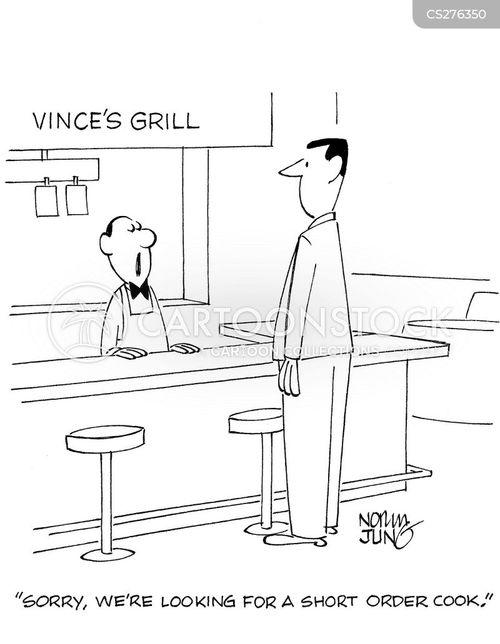 tall men cartoon