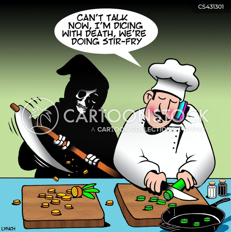 stir-fry cartoon