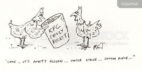 aunties cartoon