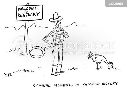 kentucky cartoon